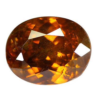 Orangener Edelstein