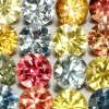 2,75ct AAA MULTI COLOR SAPHIR LOT 2,5 MM